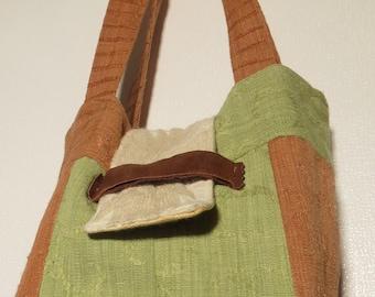 Eco friendly (Using Fired Earth Samples) Shoulder  Bag