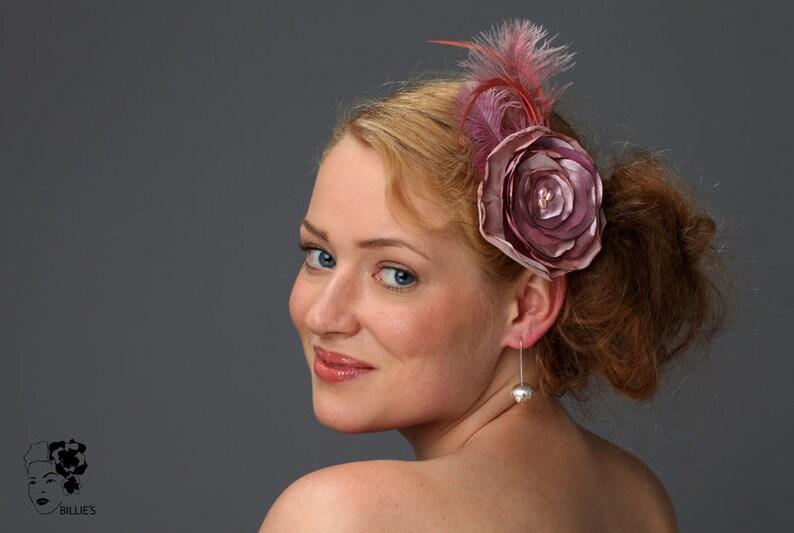 Fascinator Kopfschmuck Stoff Blüte Federn Freie Auswahl Braut-accessoires Hochzeit & Besondere Anlässe