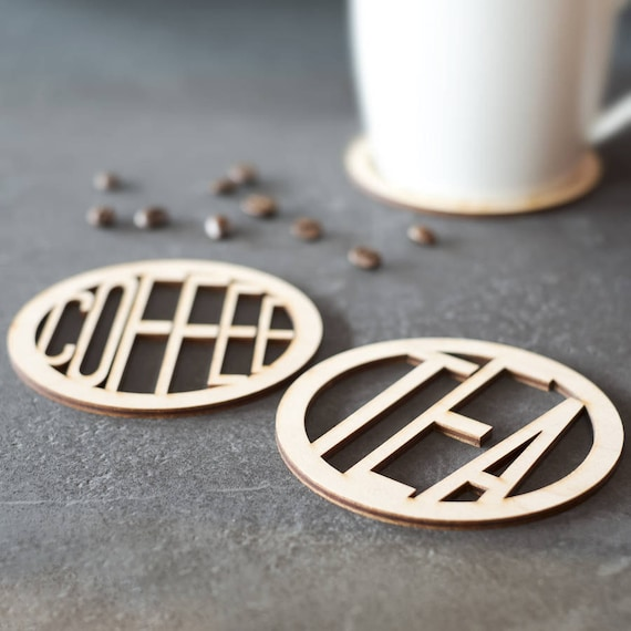 Tee und kaffee holzachterbahnen einweihungsparty geschenk etsy - Einweihungsparty geschenk ...