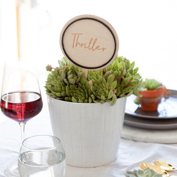 Personalisierte Kreisformigen Hochzeit Tisch Namen Hochzeit Etsy