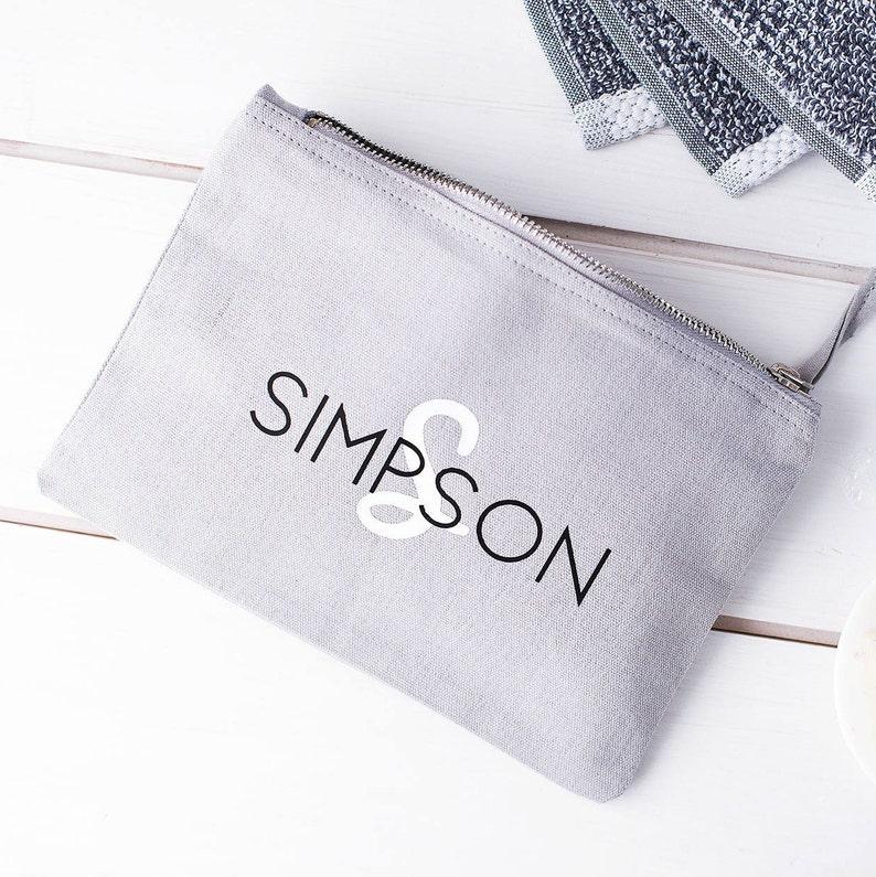 a23c5ec5f08 Mens Personalised Washbag Mens Wash Bag Custom Wash Bag | Etsy