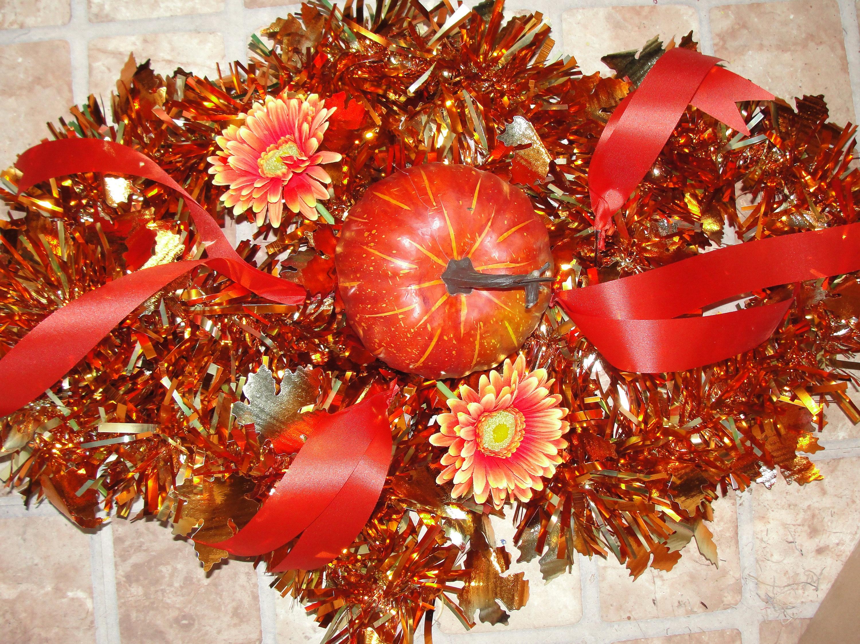 Leuchtend Orange Herbst Ernte Blumen Friedhof Grab Kissen ca. | Etsy