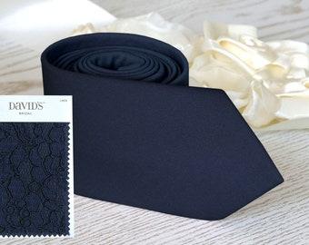 bb39730d678 MARINE Tie David s Bridal Men s skinny tie Groomsmen Neckties Custom Blue  Tie Bow-Tie Pocket square Suspenders Wedding Ties SALE