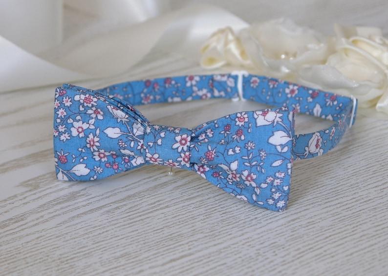 Sale 70/% Off Bow Tie Blue Floral   BowTie Light Blue  Alaskan Blue Classic Bow Tie Wedding Bow Tie SALE
