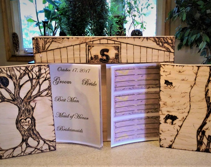 wedding guest book - Barn Wedding  - guest book -  Rustic Wedding, rustic wedding, Wedding Guest Book, farm theme wedding
