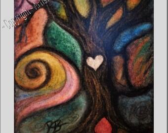Paper Anniversary gift ideas -  couples gift - boyfriend gift - girlfriend gift - wife gift - Music Art - Original art - prints  - Oil Art