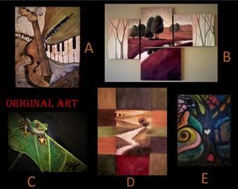 Original - music - Oil painting - musical art,musician gift - musician art,music lovers gift - Art - Oil Paintings,Custom artwork,Abstract,