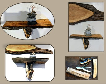 husband gift - wife gift - Rustic Decor,tree limb wall shelf - tree wall sconce - tree limb coat rack - coat rack - Tree decor,Cabin decor