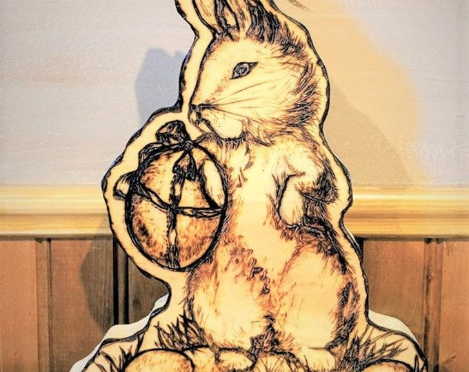 Rustic -Easter Decorations - Easter table decoration - Easter bunny - wife gift - mother gift- easter gift