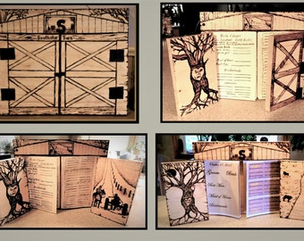 Wedding Guest book - Barn Wedding,Barn Wedding guest book,Rustic Wedding, rustic wedding, Wedding Guest Book, farm theme wedding, Wood Book