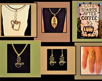 Coffee - wife gift - mother gift - Office gift ,java, coffee gift .coffee jewelry,friend gift ,Co worker gift , girlfriend gift ,coffee cup,