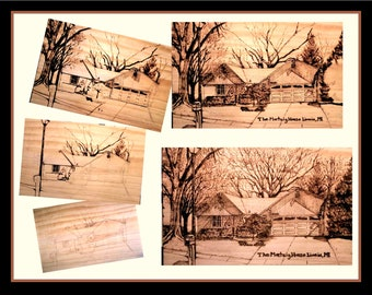 house art - father gift - wife gift -  husband gift  - your home - wood gift ideas - wood anniversary gift