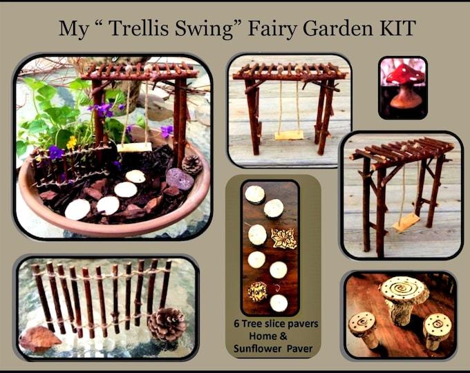 fairy garden, dish garden, fairy garden kits, child garden, kids gifts,  fairy bench, fairy furniture, fairy accessories, fey,fairie