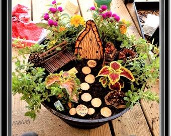 fairy garden,fairy garden kit,wife gift,kids garden,magic fairy garden,children gifts,garden,garden kits