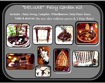 fairy garden kit,fairy garden,fairies, wife gift -  daughter gift - garden kit,  childrens gifts,most popular
