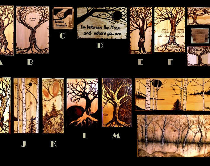 Tree Art - birch tree art - wife gift - husband gift,retirement gift,wood gift - 5th anniversary,wood Anniversary gift,five year anniversary