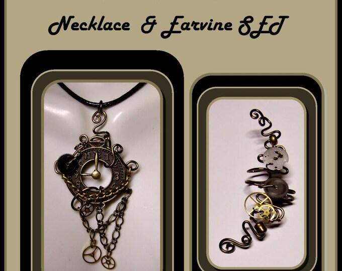 Steampunk,Steampunk Jewelry,Steam punk Necklace,, Steampunk,