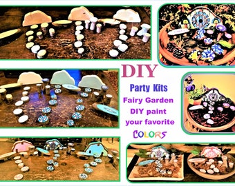 DIY, DIY fairy garden, Child , Party ideas,child party craft ideas, kids craft party,child craft party, paint your own fairy garden,kid fun