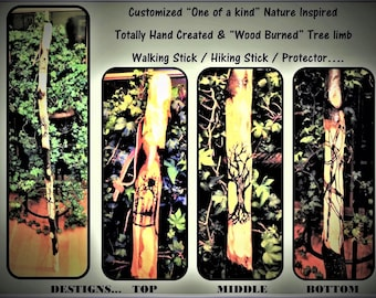 hiking sticks - Retirement gift - hikers gift - walking stick