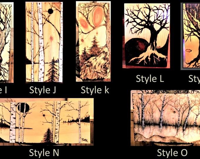 birch tree art - wife gift - husband gift - retirement gift - wood gift - 5th anniversary,wood Anniversary gift,five year anniversary gift
