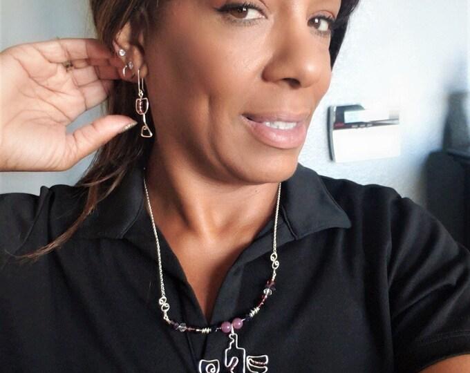 Girlfriend gift, Wine lovers gifts,wine lovers jewelry,wine grapes jewelry,wine cork jewelry,wine glass earrings,bartender