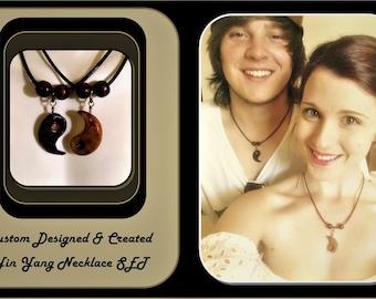 boyfriend gift - girlfriend gift -  Yin Yang jewelry - Romantic gift ideas - Couples Jewelry,his hers jewelry,mens gift,Couples gift,