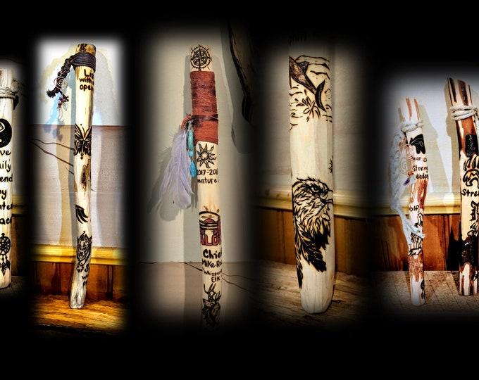 talking stick - tribal talking sticks