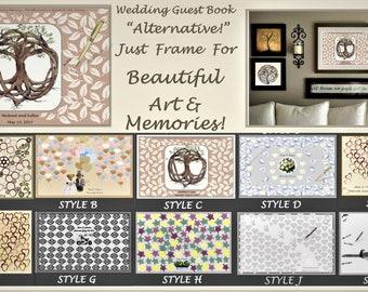 Wedding gust book,guest book alternative,wedding art,wedding Art, save the date, wedding sign in