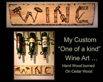 Wine lovers gift, wine art wine decor , wine lover , wine , wine gift, boss gift, husband gift, wife gift,hostess gift