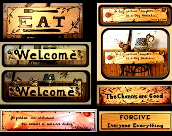 wood signs - custom signs - directional signs - wood burnedsign - inspirational art,Rustic Art,rustic decor,cabin decor,quote signs
