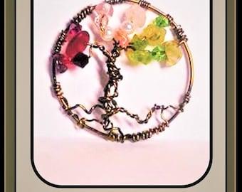 wife gift, Balance, Healing,  jewelry, Tree of Life, tree of life necklace, gemstone healing, spirit, light , love