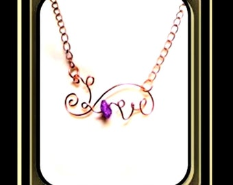 February birthstone jewelry, - amethyst jewelry - valentine jewelry - valentines day - love - Birthstone jewelry,wife gifts,sobriety