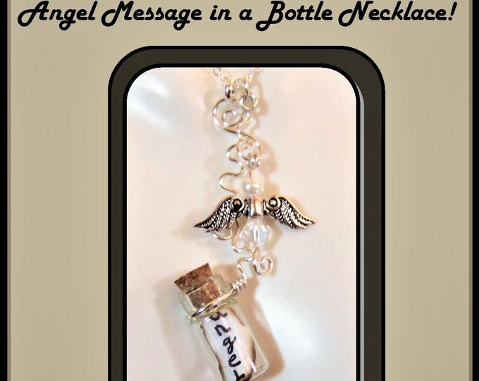 angel, necklace, Loss, bereavement, memorial, sympathy,  mother gift, birthstone, gift