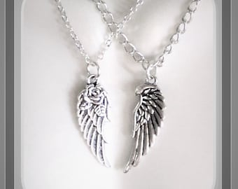 Couples, bereavement, memorial, angel, necklace, Loss,  sympathy,  mother gift, birthstone, gift