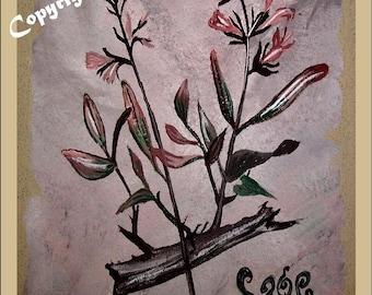 Spice painting - Spice Art, Chef gift, kitchen art, Parsley Sage Rosemary Thyme, Basil art,Oregano art, kitchen decor, kitchen accessories