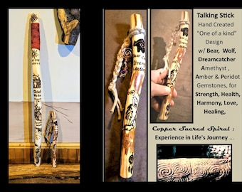 child waling stick,Talking stick,Communication,hiking sticks, childs hiking stick, kids hiking stick,kids walking stick,