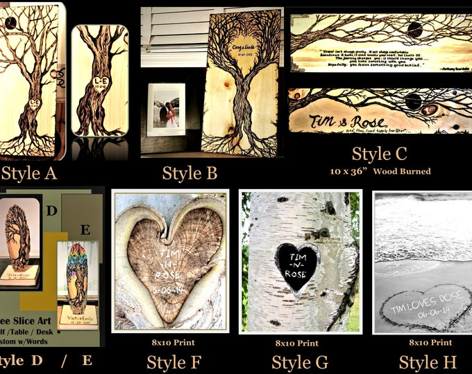 Anniversary gift - husband gift,wife gift,Couples gift ,soulmate,boyfriend gift,girlfriend gift,romantic,wood anniversary,5 year Anniversary