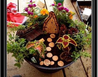 wife gift,kids garden,fairy garden accessories,fairy bench,miniature furniture,fairy accessories,fey,fairie,fantasy,magic,children gifts