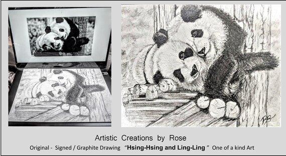 fan art, Famous,  pandas, heres johnny, Jason Mamoa, Original art, print - The Shining - Jack Nicholson, Graphite,dog,pet portraits