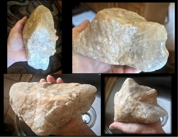 large, raw, quartz rock, raw quartz rock