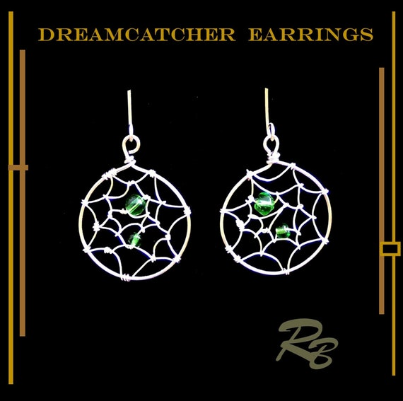 dreamcatcher  earrings, dreamcatcher gifts, chakra, earrings,   jewelry, mother daughter jewelry