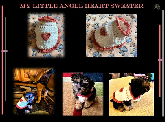 Sweater, Harness, 2 lb, small dog, xx small, puppy, toy dog, 3lb,4lb, puppy harness