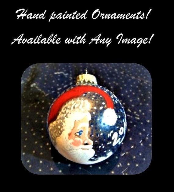 Christmas gift ideas,Mother gift,Holiday gift ideas,Teacher gift ideas,Hand painted Christmas Balls,Christmas Ornaments,Custom Ornaments