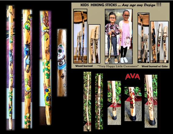 child, stick, walking, hiking, retirement gift, walking stick,hiking stick - walking cane, hikers gift husband gift, Father gift,