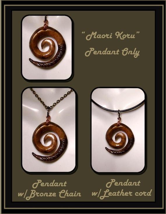 Maori Koru, pendant, Peace, Tranquility, Maori Koru necklace, Mens Neclace, Unisex jewelry, Healing jewelry,New Parent gift, Newlyweds gift,