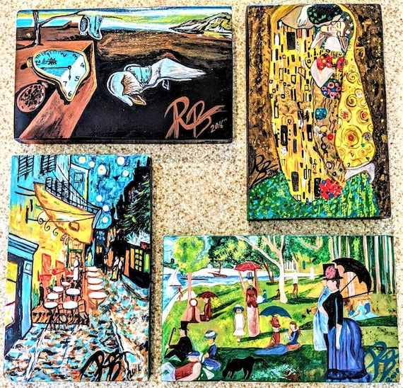 Rockdale Arts District, Rose Barnes, Masterpiece, Fine Art, Aston PA, local Artist,  Artist, starry night,,Picasso,van gogh,,artist gift,