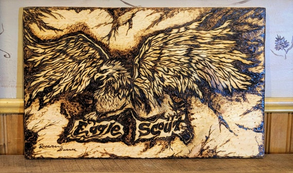 plaque, scoutmaster retirement, gift, eagle scout , merit badge ceremony,  scout gift, eagle scout achievement, troop leader , eagle