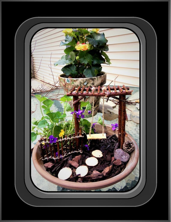 fairies - fairy garden kit - fairy gardens   -fairy -  faerie garden - children gifts - dish garden - daughter gift - wife gift