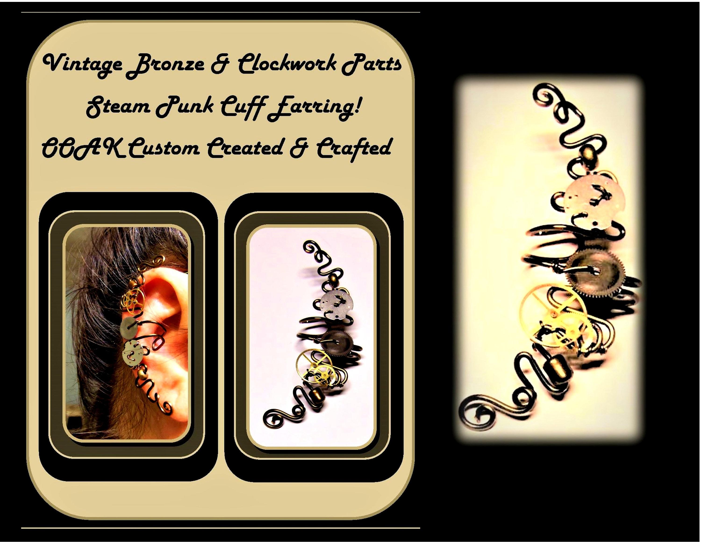 Steampunk Wedding Gifts: Steampunk Wedding Jewelry