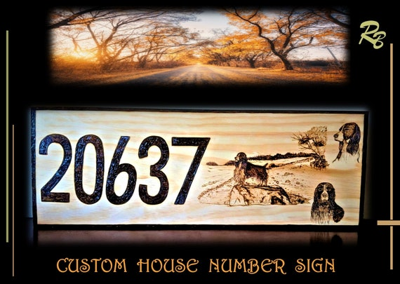 custom, house number sign